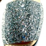 Leather SILVER GLITTER - PONS | Purity Lace Designs