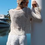 Alexa Crop - Purity Lace Designs