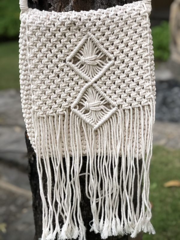 Avery Boho Handmade Handbag | Purity Lace Designs