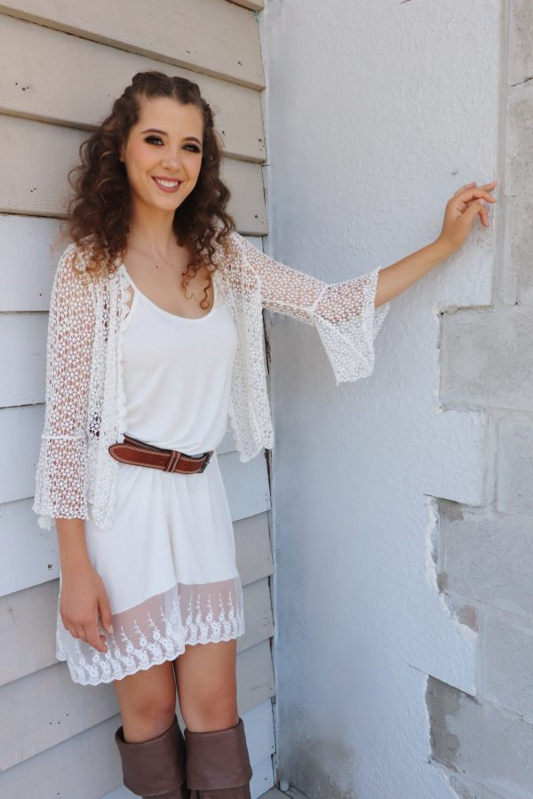 Belle Sleeve Cardy - Purity Lace Designs