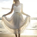Positano Lace Skirt - Purity Lace Designs