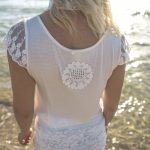 Sweet Tee White - Purity Lace Designs