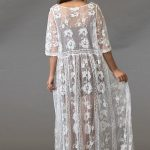 Sunset Lace Duster Kimono - Purity Lace Designs