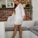 Elyse Dress / Blouse White | Purity Lace Designs