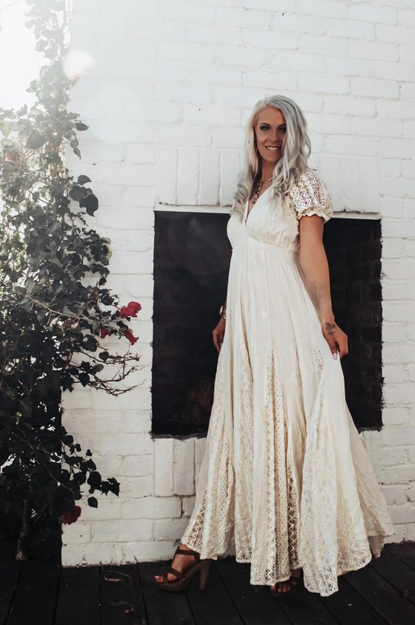 Mykonos Dress | Purity Lace Designs