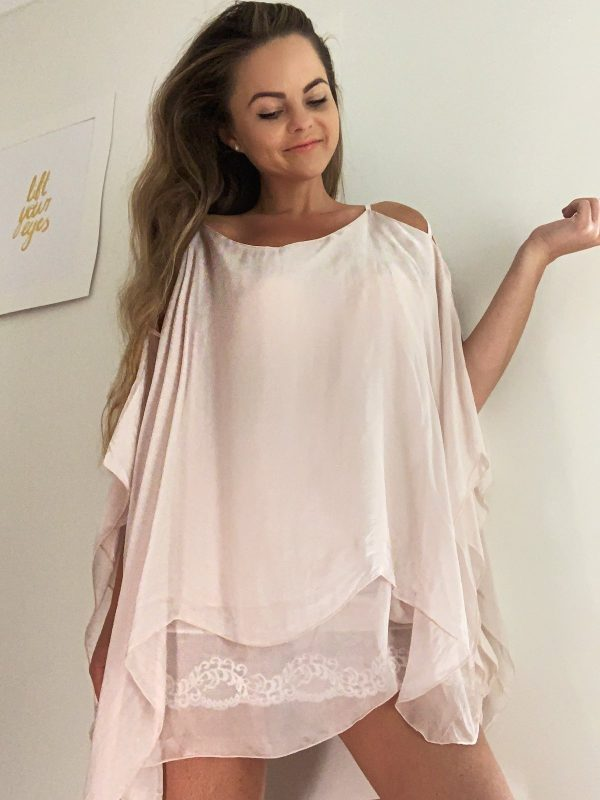 Maggie Top Pink   Purity Lace Designs