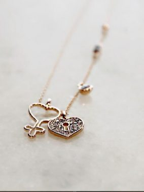 Amazing Grace 14K Rose Gold Necklace | Purity Lace Designs
