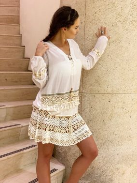 IndiSky Skirt | Purity Lace Designs