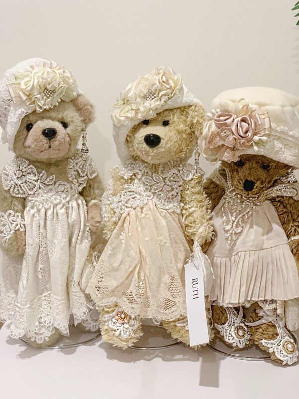 Vintage Lace Gift Teddy Bear | Purity Lace Designs