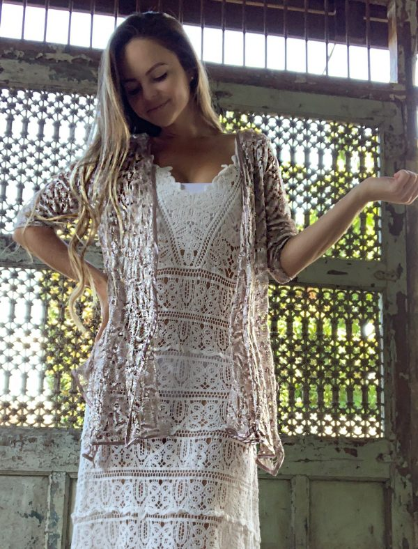 Florence Bronze Jacket | Purity Lace Designs