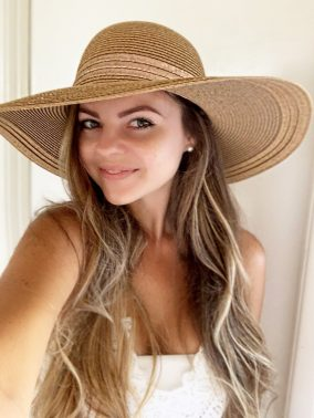 Rose Gold Floppy Hat | Purity Lace Designs