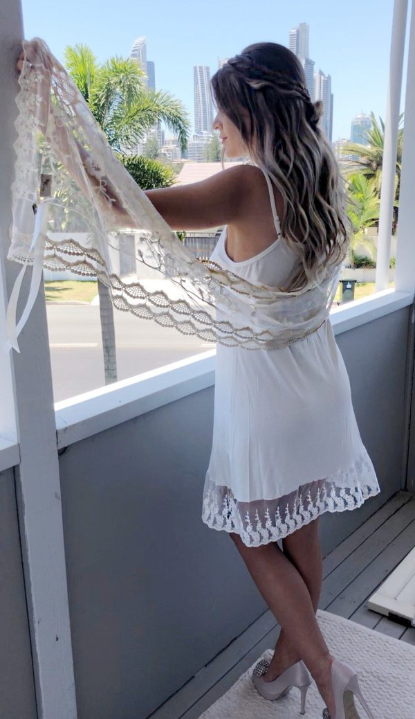 Curvy Petti Slip Dress - Purity Lace Designs