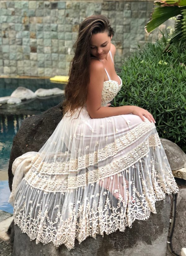 Anastasia Lace Skirt - Purity Lace Designs