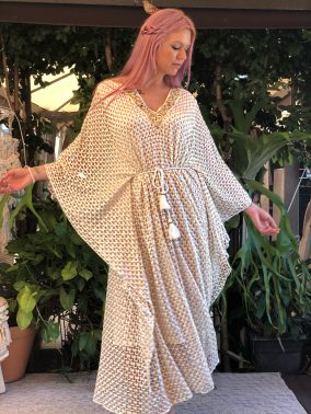 Esther Kaftan Gold - Purity Lace Designs