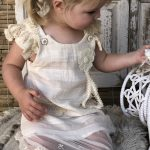 Carrie Vintage Dress - Purity Lace Designs