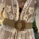 Tan Moon Belt - Purity Lace Designs