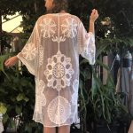 Maternity Lace Kimono - Purity Lace Designs