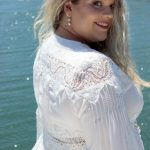 Moroccan Curvy Dress - Purity Lace Designs