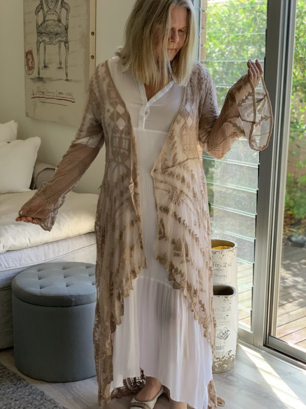Blessed Lace Kimono | Purity Lace Designs