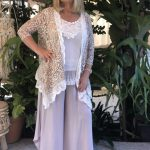 Rebecca Lace Jacket - Purity Lace Designs