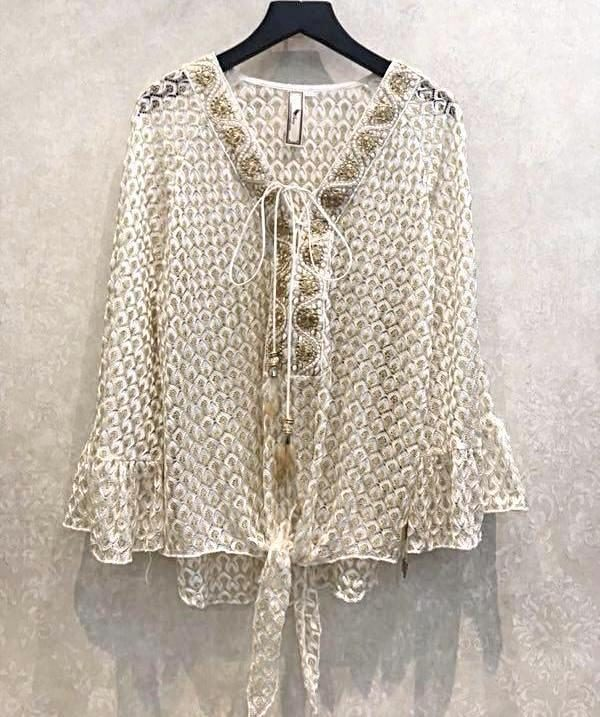 Bellie Boo Blouse - Purity Lace Designs