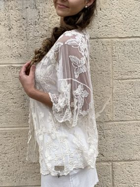 Micaela Bolero | Purity Lace Designs