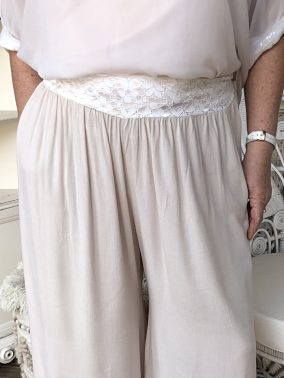 Gatsby Flapper Pants Sandy Cream - Purity Lace Designs