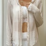 Arianna Silk Jacket Beige | Purity Lace Designs
