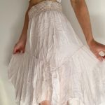 Mia Silk Skirt Pink | Purity Lace Designs