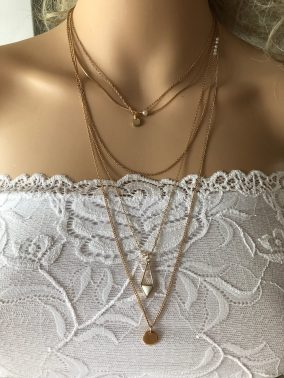 Ariel Drop Necklace - Purity Lace Designs