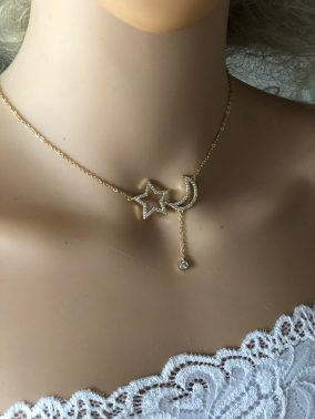 Dainty Dainty little star Necklace - Purity Lace Designs