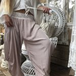 Genie Pants Dusty Pink - Purity Lace Designs