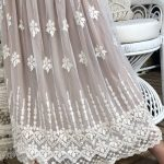 Violet Lace 3/4 length Skirt - Purity Lace Designs