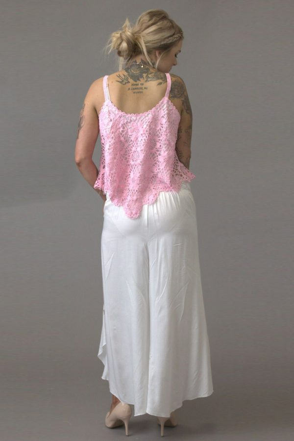 Pretty in Pink Party Girl Cami - Purity Lace Designs