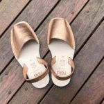 Leather METALLIC ROSE GOLD - PONS | Purity Lace Designs