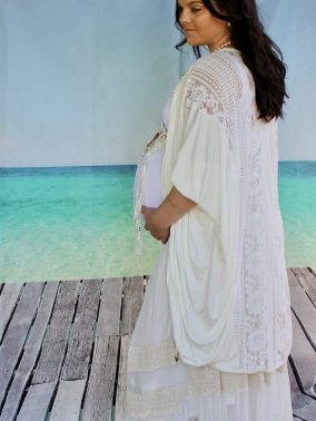Maternity Anastasia Lace Skirt - Purity Lace Designs