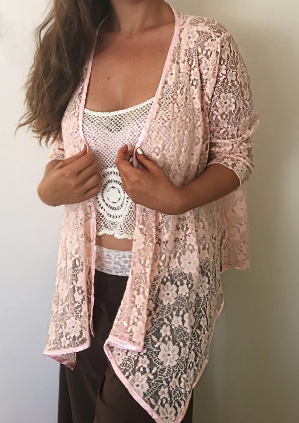 Pink Florencia Jacket - Purity Lace Designs