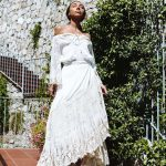 Bronte Lace Wrap Skirt | Purity Lace Designs
