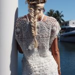 White Crochet Lace Shorts - Purity Lace Designs