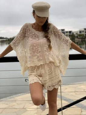 Jane Lace Top | Purity Lace Designs