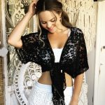 Black Romance Bolero | Purity Lace Designs