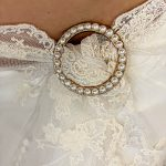 Pearl Scarf Ring | Purity Lace Designs