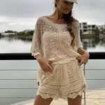 Angie Lace Shorts | Purity Lace Designs