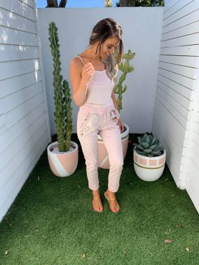 Pink Camila Pants | Purity Lace Designs
