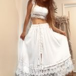 Moochie Lace Skirt | Purity Lace Designs