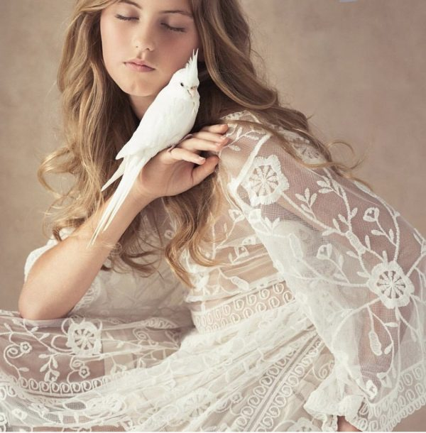 Sunrise Lace Dress - Purity Lace Designs