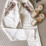 Camila Pants Cream | Purity Lace Designs