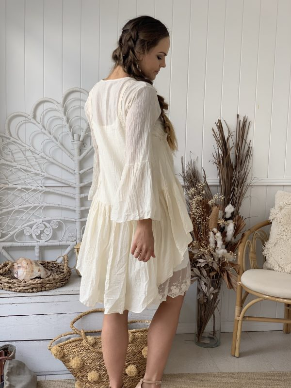 Waterfall Jacket   Purity Lace Designs