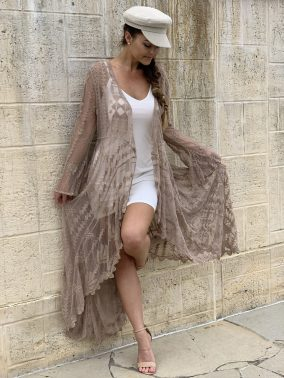 Blessed Lace Kimono   Purity Lace Designs
