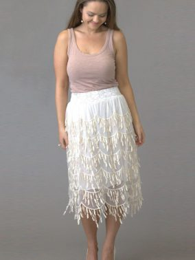 Cha Cha Skirt - Purity Lace Designs